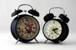 นาฬิกาปลุก-vintage-สีดำ