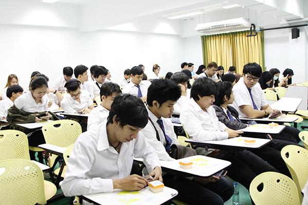 นักศึกษาม.เทคโนโลยีมหานครฟังบรรยาย