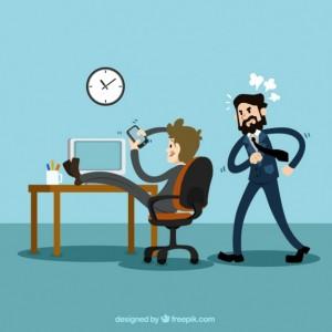 businessman-using-mobile-phone-at-work_23-2147508876