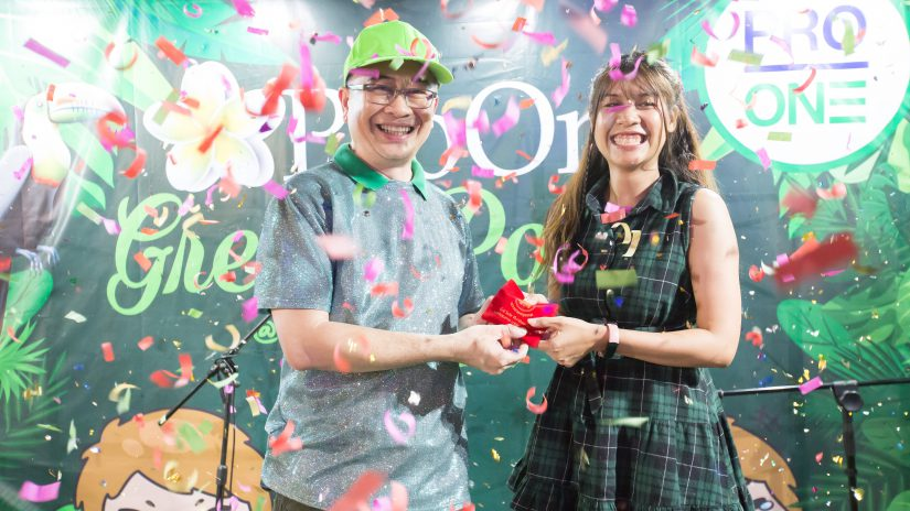 """ชาวโปรวัน สนุกสนานรื่นเริง ร่วมฉลองปีใหม่ในงาน """"Green Power Party"""""""